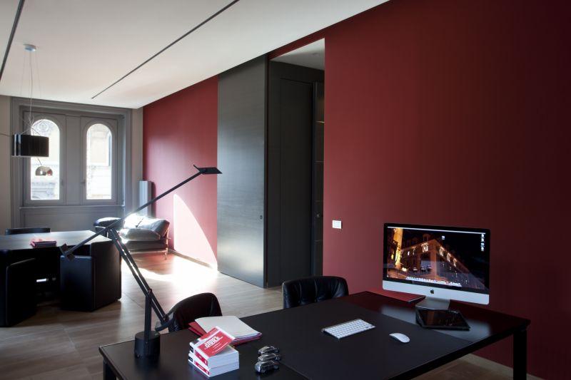 Arredamento uffici genova cengia for Arredo studio ikea